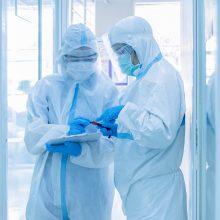 JAV – per 60 tūkst. naujų viruso atvejų