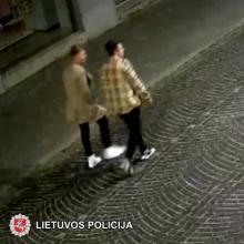 Vilniaus centre sumuštas jaunas vyras: pareigūnai prašo atpažinti užfiksuotus asmenis