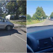 Avarija Vilniaus rajone: į medikų rankas perduoti du vairuotojai