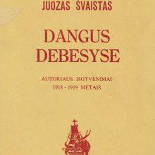 J. Balčiūnas–Švaistas – prėsko gyvenimo nemėgęs rašytojas