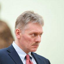 Kremlius: Maskva apgailestauja dėl EP raginimo kovoti su agresyvia Rusijos politika