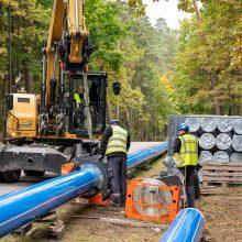 Nepastebimi, bet reikšmingi darbai: atnaujinami požeminiai tinklai stiprina Kauno žaliąjį kursą