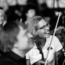 Lietuvos valstybinio simfoninio orkestro gimtadienyje – netikėta pažintis