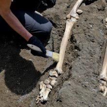Vilniuje statybos objekte rasti žmogaus griaučiai