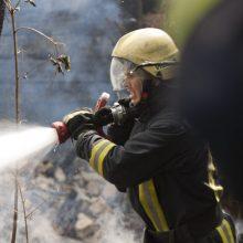 Vilkaviškio rajone esančiame ūkiniame pastate per gaisrą žuvo vyras
