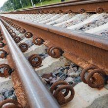 Kretingoje traukinys partrenkė žmogų