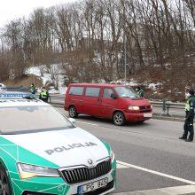 Kauno pareigūnams įkliuvęs vairuotojas prisipažino – gėrė dvi dienas iš eilės