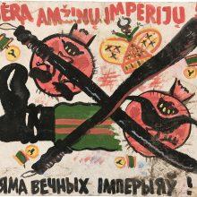 Dar niekur neeksponuotuose 1991 m. sausio 13-osios plakatuose – šalies visuomenės emocijos