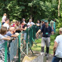 Pasaulinės gyvūnijos dienos renginyje – Lietuvos zoologijos sode rūpestis gyvūnais