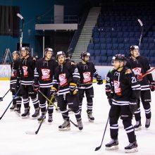 """""""Hockey Punks"""" užtikrintai pratęsė savo pergalių seriją"""