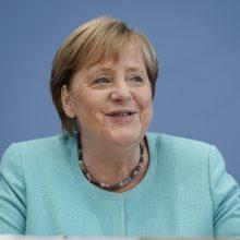 """A. Merkel: kompromisas su JAV dėl """"Nord Stream 2"""" – """"geras žingsnis"""", bet ginčų išlieka"""
