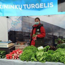 Ūkininkų turgelyje prie Kauno rajono savivaldybės įvežtinės produkcijos nebus