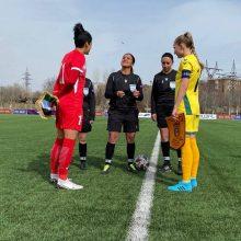 Lietuvos moterų futbolo rinktinė turnyrą pradėjo pergale: per pirmą pažintį – įvartis varžovėms