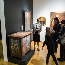 Nacionalinio M.K. Čiurlionio dailės muziejaus ekspozicijoje – unikalūs eksponatai
