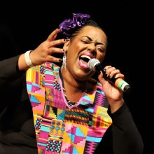 "Gospelo choras ""Harlem Gospel Choir"" pradėjo savo šešių koncertų turą po Lietuvą"