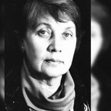 Po sunkios ilgos ligos mirė architektė G. Tulevičienė