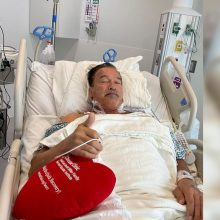 A. Schwarzeneggeriui atlikta širdies operacija