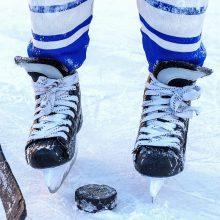 """Į pergalių kelią grįžę """"Hockey Punks"""" paliko varžovus be taškų"""