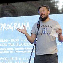 """Vilniuje – padėkos šventė """"Ačiū tau, Islandija"""""""