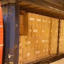Muitininkai sulaikė 1,2 mln. eurų vertės cigarečių kontrabandos krovinį