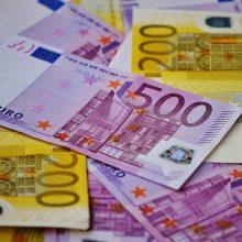 Į valstybės ir savivaldybių biudžetus surinkta 12,7 proc. mažiau pajamų nei planuota