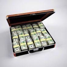Milijonierių pasaulyje padaugėjo ir jų turtas pernai padidėjo beveik 9 proc.