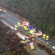Naujojoje Zelandijoje per autobuso avariją žuvo penki kinų turistai