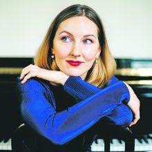 Pianistė K. Pancernaitė: koncertas – rytoj, šiandien apie tai negalvoju