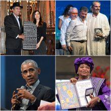 Kas per praėjusius dešimt metų tapo Nobelio taikos premijos laureatais?
