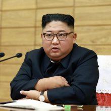 """Šiaurės Korėja vėl išbandė """"itin didelę"""" raketų leidimo sistemą"""