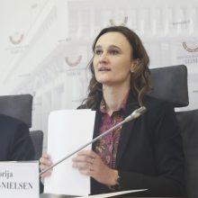 Seimas apsispręs, ar parlamento vairą patikėti V. Čmilytei- Nielsen