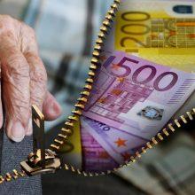 M. Navickienė: vidutinė pensija kitais metais galėtų didėti 50 eurų