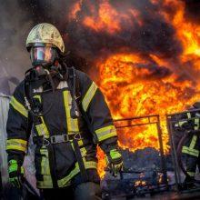 Vilniuje per gaisrą name žuvo du žmonės