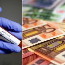 Spręs dėl paskolos Lietuvai koronaviruso krizės pasekmėms mažinti