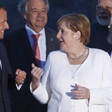 Vokietija ir Prancūzija sieks susitikimo su V. Putinu Ukrainos klausimu