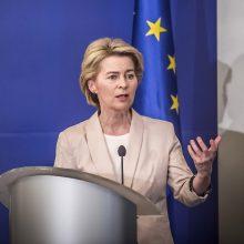 U. von der Leyen  kitą savaitę paskelbs eurokomisarų komandą
