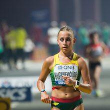 Ėjikė Ž. Vaiciukevičiūtė pasaulio čempionate finišavo 23-ia