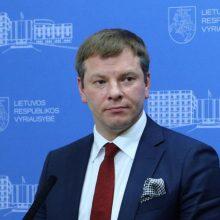 V. Šapoka žada kiek keisti papildomų investicijų į ekonomiką paketą