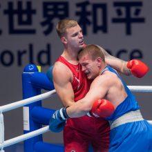 Boksininkas A. Baniulis nepateko į pasaulio kariškių žaidynių finalą