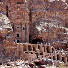 Pirmą kartą Jordanijos Petros miestas sulaukė 1 mln. lankytojų