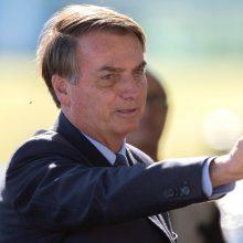 COVID-19 užsikrėtęs J. Bolsonaro teigia besijaučiantis labai gerai