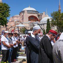 EK vicepirmininkas M. Schinas įspėjo Turkiją dėl Šv. Sofijos soboro