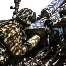 """Pratybose """"Grifono kirtis"""" vertinami artilerijos bataliono gebėjimai vykdyti užduotis"""