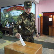 Baltarusijos rinkimų pirmieji rezultatai: A. Lukašenka gavo apie 82 proc. balsų