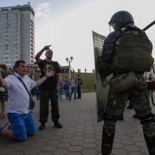 Rusijos žurnalistų sąjunga pareiškė protestą Baltarusijos valdžiai