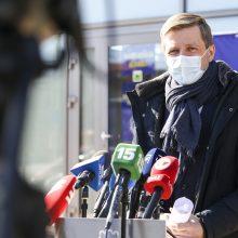 """R. Šimašius apie vakcinaciją: """"antivakseriška"""" propaganda veikia ne visus"""