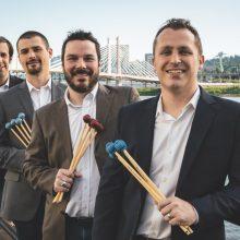 "Pirmąkart Lietuvoje – ""Portland Percussion Group"" koncertas"