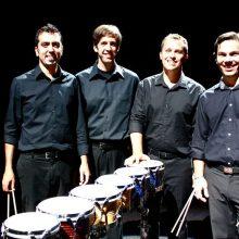 """""""Portland Percussion Group"""" atvyko koncertuoti į Vilnių"""