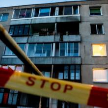Vilniuje iš balkono iškrito ir mirtinai susižalojo garbaus amžiaus moteris