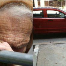 Netoli daugiabučio Marijampolėje partrenkta senolė atsidūrė ligoninėje